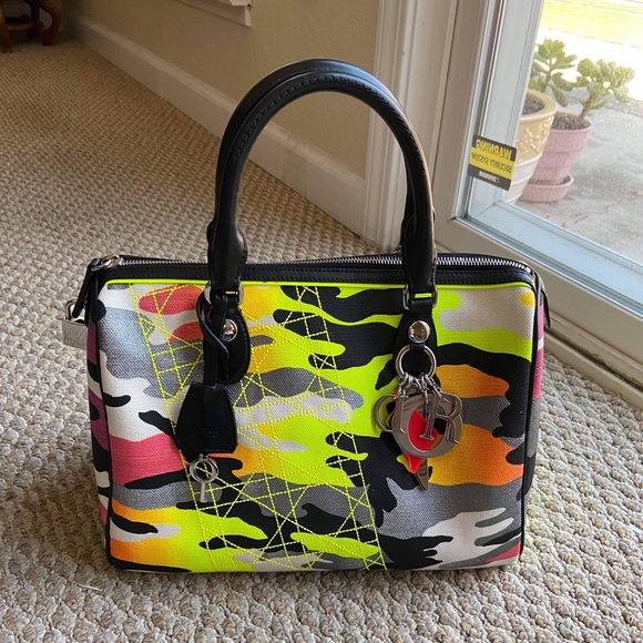 Dior Handbags - Dior Boston bag